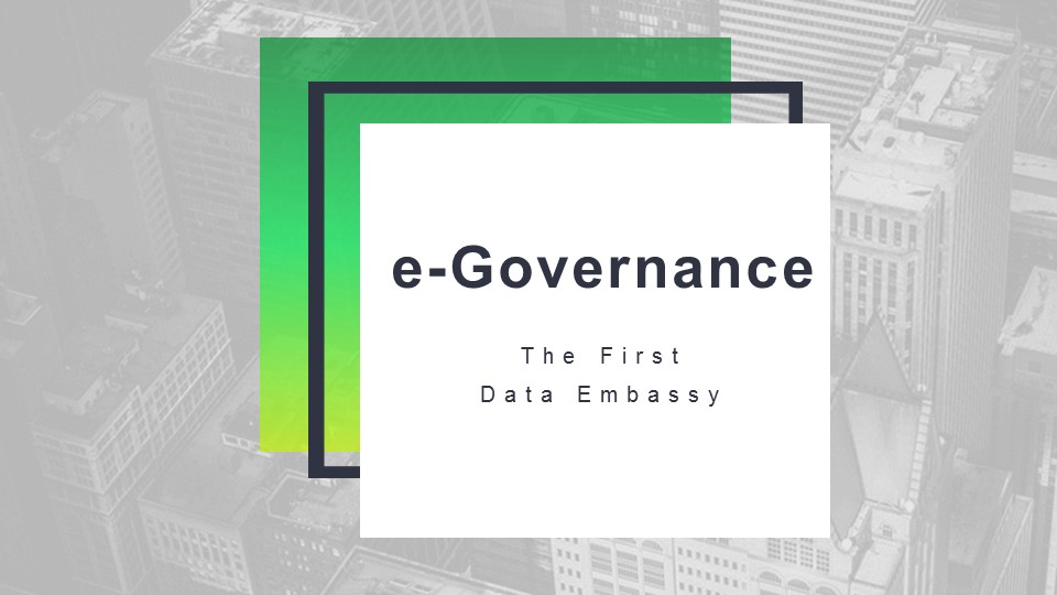 6. E-governance in